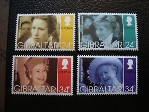 Gibraltar-Briefmarke-Yvert-Tellier-N-764-A-767-N-MNH-COL3