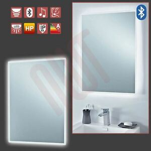Image Is Loading 034 Bluetooth LED Designer Infra Red Bathroom