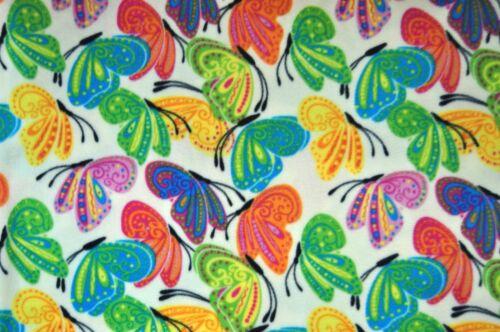 Sustancias antipilling polar fleece polarfleece 9485 estampados mariposas