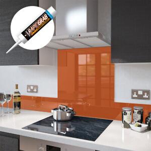 Orange-en-verre-trempe-splashbacks-et-Upstands-Made-by-Gamme-Premier