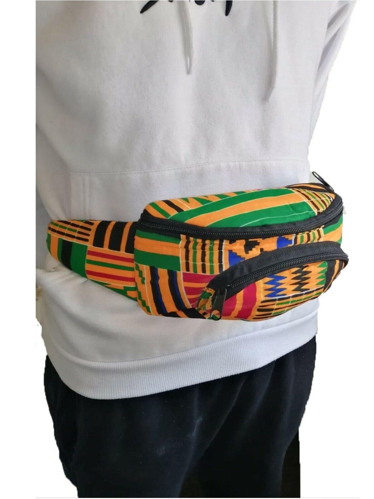 African design waist bag