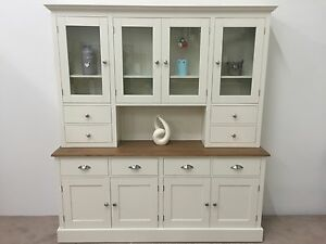 Image Is Loading 6ft New Solid Pine Welsh Dresser Dinning Kitchen