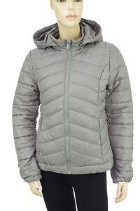Détails sur PEPE JEANS Doudoune micro femme ETOILE coloris gris silver PL400966 taille S