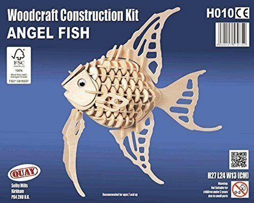 Angelo Pesce Quay Woodcraft Kit Costruzione Legno 3D Kit Modello H010 Età 7+