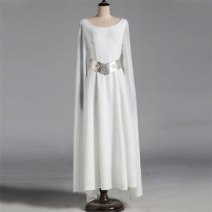 0553d581ef87 Image is loading Star-Wars-Princess-Leia-Organa-Solo-Cosplay-Costume-