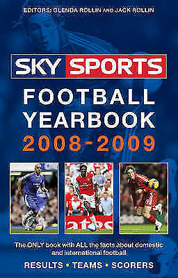 1 of 1 - Sky Sports Football Yearbook 2008-2009, Rollin, Jack, New Book