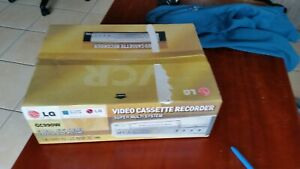 LG-GC990W-2-speed-SP-LP-Stereo-Hi-Fi-VCR-remote-Brand-new-in-box-UNUSED