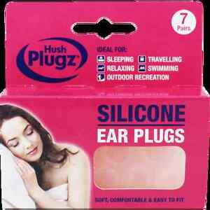 7-Pairs-Hush-Plugz-Ear-Plugs-Soft-Silicone-Earplugs-Custom-Mould-to-your-Ear