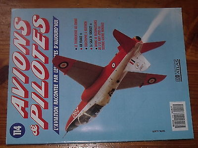 $$ Fascicule Avions & Pilotes N°114 Thnderchief Air France Heathrow Sikorsky
