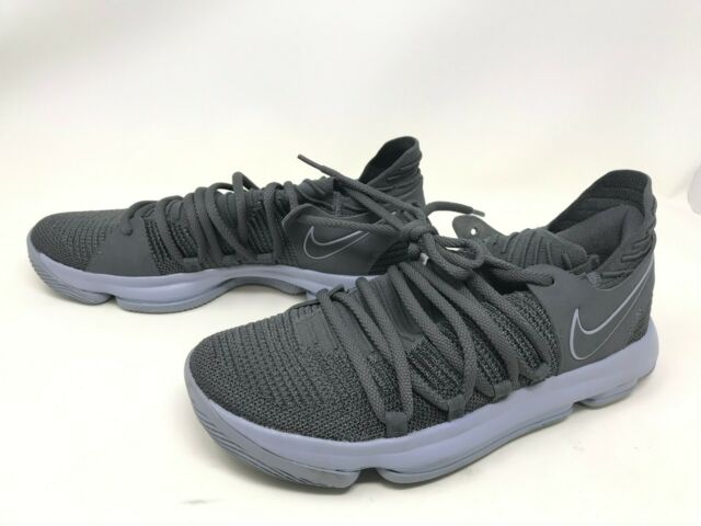 best service 173be 5ee0e Mens Nike (897815-005) KD 10 Dark Grey Sneakers Size 10 (406K)