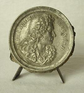 Confiant Médaille François Regnard Compositeur De La Renaissance. Douai Medal