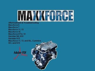 Maxxforce Service Repair Manual Diesel Engines Full Fast