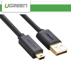 ugreen usb 2 0 mini 5 pin data charging cable for psp ps3image is loading ugreen usb 2 0 mini 5 pin data