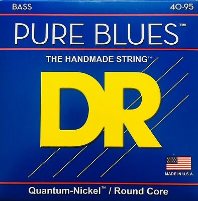 DR Strings PBVW-40 PURE BLUES Bass Guitar Strings Victor Wooten Signature