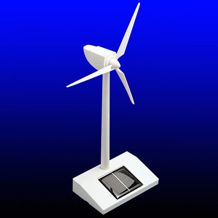 Solar Powered Model Windmill Turbine Decoration