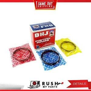 DNJ PR500.20 Oversize Piston Ring Set For 86-97 Suzuki 1.3L DOHC SOHC 16v G13A