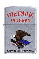 Zippo 207 Vietnam Veteran Chrome Lighter