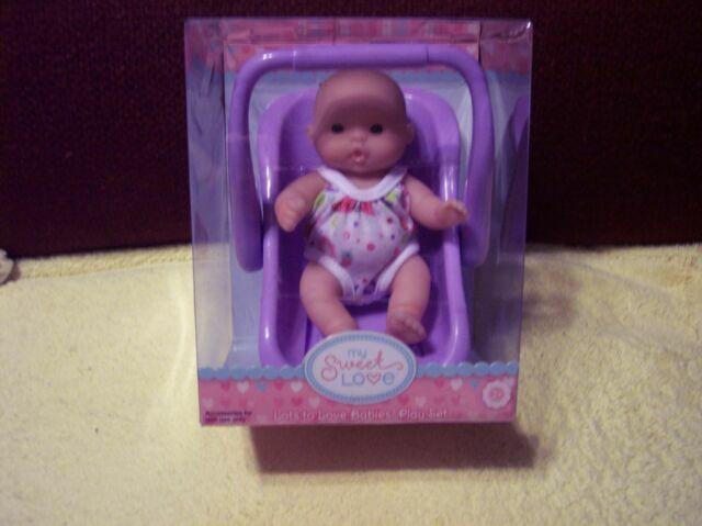 "NEW Berenguer Doll Lots To Love Babies 5/"" Mini Nursery PlaySet On Trike HTF"