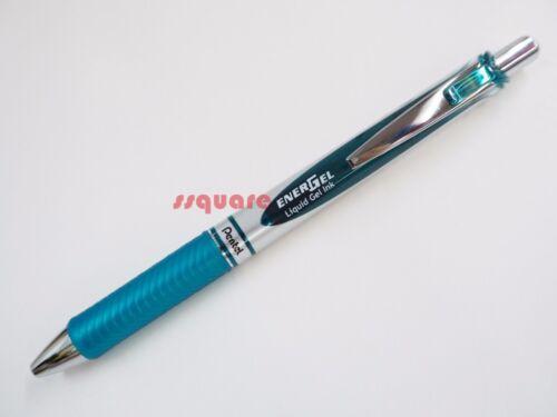 Orange Pentel EnerGel Ener Gel retractable 0.7mm Silver Body Rollerball Pen