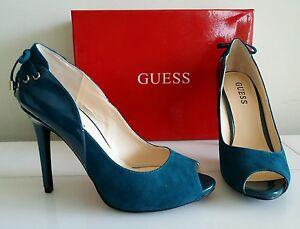 db2b7971 Nuevo zapatos para mujer Guess Tacones Altos Bombas, Color: Verde ...