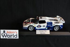 Merikits-Bburago-Ferrari-F50-1-18-89-034-Rothmans-034-PJBB