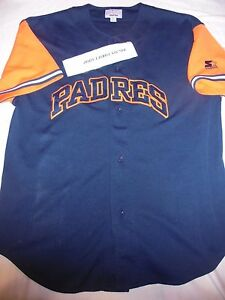 competitive price 35721 865ea STARTER SAN DIEGO PADRES BATTING PRACTICE JERSEY ADULT XL ...