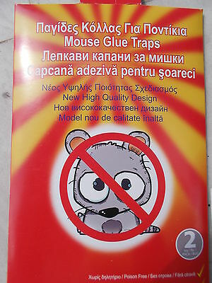 10 pcs Trapper  Sticky Glue Mice Traps Board Rodent Mouse Rat Bugs IN BOX NEW