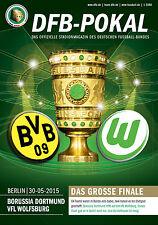 DFB-Pokalfinale Berlin 30.05.2015 Borussia Dortmund - VfL Wolfsburg