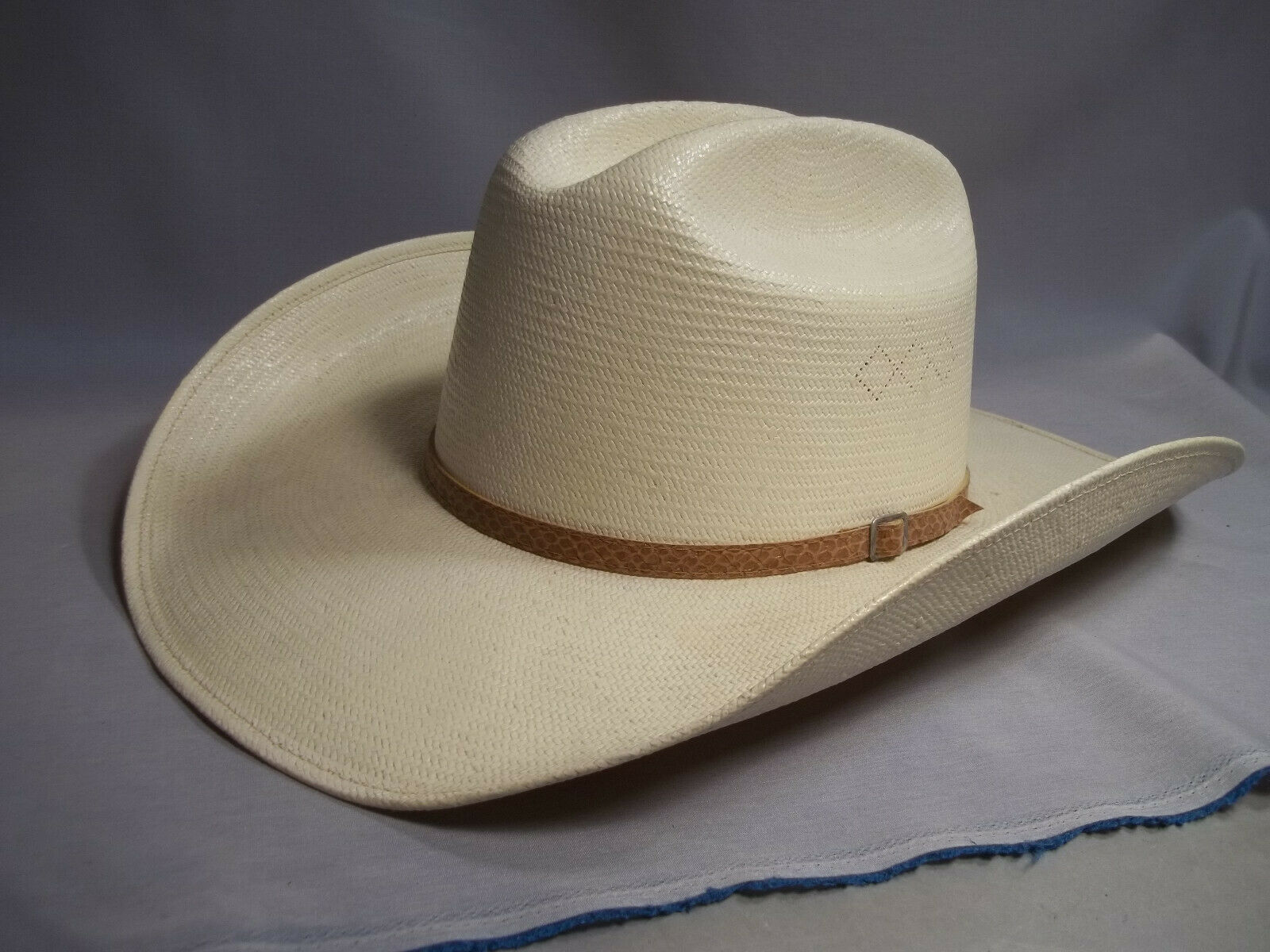 Turner Hat Company Western Panama     Cowboy Hat   Size 73 8 30X  hot sales