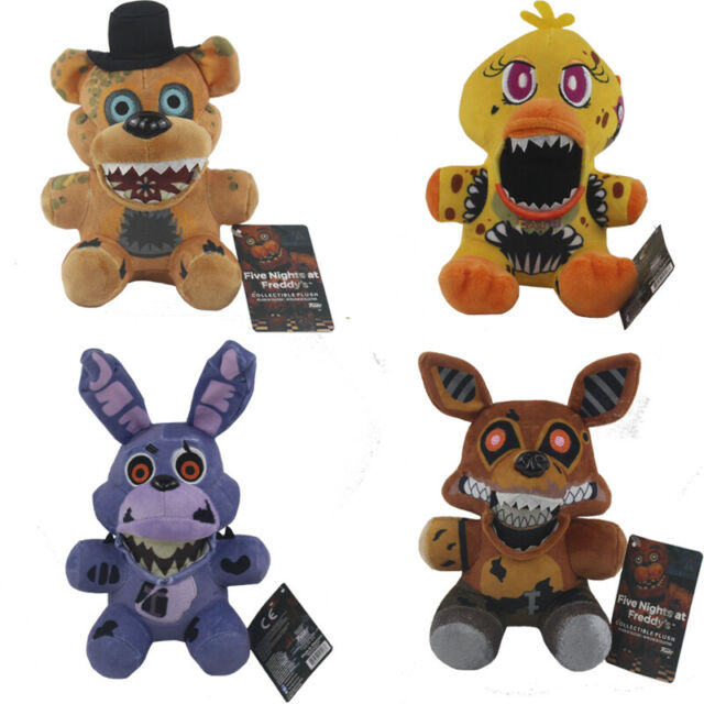 Exclusive 7'' FNAF Five Nights At Freddy's Chica Bonnie