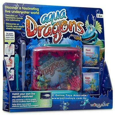 Underwater World Sea Monkeys Boxed Kit - Aqua Dragons Free Shipping!
