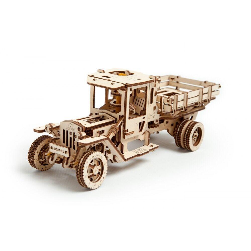 MECHANICAL 3D MODEL WOODEN PUZZLE TRUCK UGM 11 MODEL UGEARS