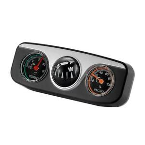 Digital Clock//Compass//Thermometer for Car Dash Mount Car Compass UKP
