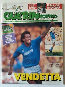 GUERIN-SPORTIVO-48-1988-CARECA-FAUSTO-COPPI-GINO-BARTALI-FILM-DEL-CAMPIONATO