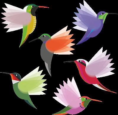 Window Hangings Hummingbird Decoration Decorative Birds Wire Hummingbirds Bird Wall Art Bird Lover Gifts