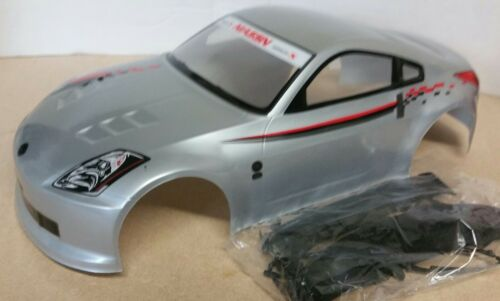 1//10 RC car 190mm on road drift Nissan 350Z Body Shell w//spoilers
