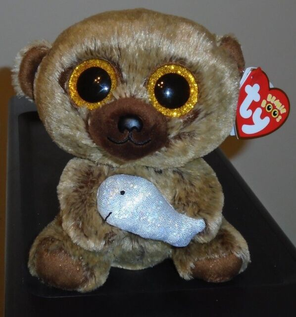 Ty Beanie Boo Boos Henry The Bear With Fish 6