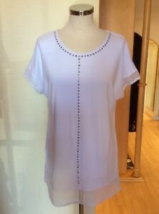 627667048741 Size Picadilly Xs10 Mesh Bnwt Studs £88 White Rrp And Now Top £39 With VLSzMpqGU