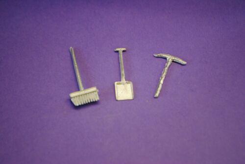 Corgi Pennyburn Trailer No.109 Tools white Metal Casting spare parts