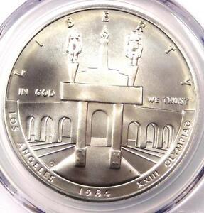 1984-D-Olympics-Dollar-1-PCGS-MS70-Rare-Perfect-Top-Pop-MS70-2-850-Value
