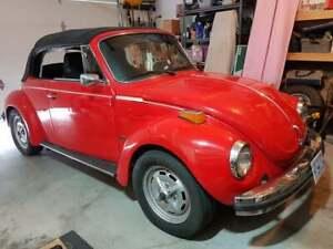 1974 Volkswagen Beetle Super Beetle