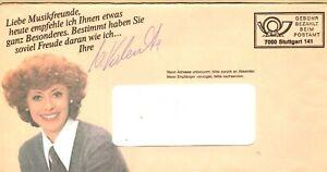 Autogramm Catarina Valente - Sängerin, Schlager, 60er Jahre
