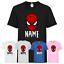 miniature 1 - Personalised Children's Spider-Man T-Shirt Funny Kids Gaming Gamer Avenger Top