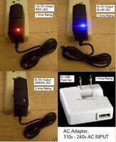 Usa Ac Adapter 5v 2a, 9v/12v 1a Positive Or Negative Center Pin Polarity