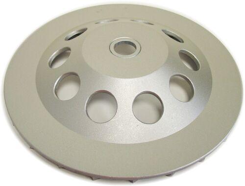 "4PK 7"" Spiral Turbo Diamond Cup Wheel for Concrete Grinding 24Seg 7//8/""-5//8 Arbor"