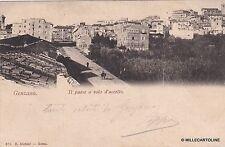 # GENZANO: IL PAESE A VOLO D'UCCELLO  - 1902