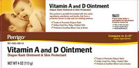 Perrigo Vitamin A&d Ointment 4oz Diaper Rash Ointment And Skin Protectant