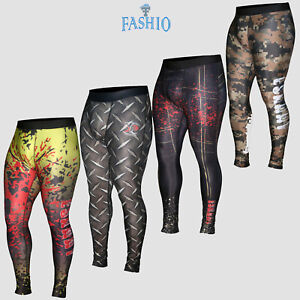Men-039-s-Thermal-Compression-Pants-Running-Gym-Tights-Trouser