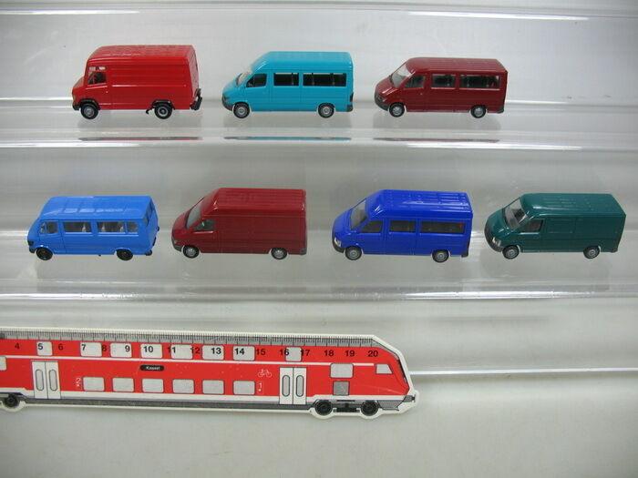 Ab125-0, 5  7x HERPA h0 transporteur  vw LT LT LT  MERCEDES MB t1n, 207 D, top 97e787