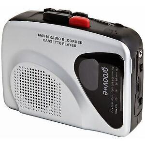 Groov-e-GVPS525-Retro-Personal-Cassette-Tape-Player-Recorder-w-Radio-Silver